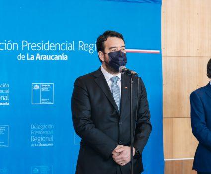 Luciano Rivas, Gobernador de La Araucanía
